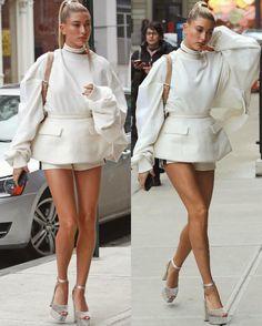 "7,149 Gostos, 17 Comentários - • The Daily Fashion Dose • (@a1daily) no Instagram: ""outfit inspo.  @haileybaldwin"""