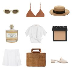 """""""Lake Como"""" by thisorganizedchaos ❤ liked on Polyvore featuring Forever 21, NARS Cosmetics, Michael Kors, Library of Flowers, Monki, Salvatore Ferragamo, Maryam Nassir Zadeh, Base Range and Elizabeth and James"""