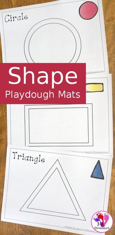 Free shape playdough mats 11 shape mats to use with kids com freeprintables playdoughmat shapes prek these hairstyles will give you some refreshing hair inspo! Shape Activities Kindergarten, Playdough Activities, Toddler Learning Activities, Preschool Shapes, Preschool Math, Maths, Shapes For Toddlers, Printable Shapes, Teaching Shapes