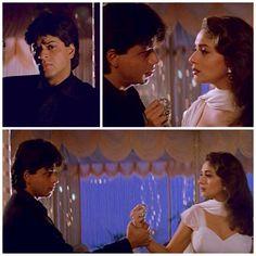Shah Rukh Khan and Madhuri Dixit in 'Aur pas' - Dil To Pagal Hai (1997)