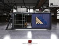 DRA Mining Indaba 2013 - Shipping Container Conversion