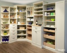 Space Makers can install shelving, cabinets, drawers and more in any space you want. Check out their eco-friendly products as well!