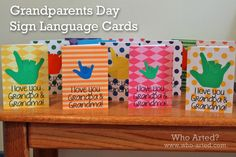 Grandparent's Day Cards