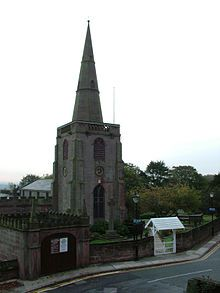 all Saints Church, Childwall from Wikipedia