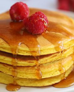 An easy recipe for coconut flour pancakes that are golden in color and perfectly fluffy. Add your favorite mix-ins and toppings to make them your own. These pancakes work great if youre gluten-free paleo or keto. Coconut Flour Recipes Keto, Coconut Flour Pancakes, Paleo Recipes, Low Carb Recipes, Cooking Recipes, Cooking Tips, Easy Recipes, Paleo Food, Oven Recipes