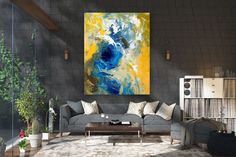Large Abstract wall art,Original Abstract wall art,large art on canvas,xl abstract painting,abstract wall art Bright Paintings, Unique Paintings, Abstract Paintings, Art Paintings, Bedroom Paintings, Large Abstract Wall Art, Large Painting, Painting Canvas, Textured Painting