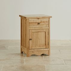 Cairo Solid Oak Large Bedside Cabinet from the Cairo Solid Oak range by Oak Furniture Land Oak Furniture Land, Solid Wood Furniture, Oak Bedside Cabinets, Wooden Bedside Table, Bedside Tables, Real Wood, Solid Oak, Cairo, Diy Home Decor