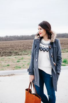 """""""Kendi Everyday: Fair Isle: Two Ways"""" Just when I thought I was over my crush for a fair isle sweater..."""