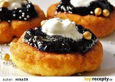 Nekynuté bramborové vdolečky recept - TopRecepty.cz Kefir, Doughnut, French Toast, Pancakes, Cheesecake, Muffin, Breakfast, Food, Morning Coffee