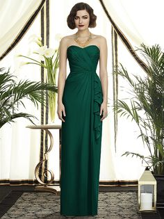 Dessy Collection Style 2895 in hunter @Patricia K. Gilman Owl ~ Michelle Burke, Independent Designer prom?