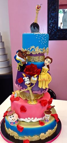 Cake Designer: Torta la bella e la bestia