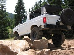 Image Ford Bronco, Ford Trucks, Broncos, Offroad, 4x4, Monster Trucks, Addiction, Adventure, Cars