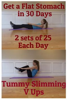 V-Up to Get a Flat Stomach | Mommy Dreaming...