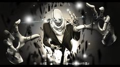 Undertale : W.D Gaster + SPEEDPAINT by maricaripan on DeviantArt - BEWARE THE MAN WHO SPEAKS WITH HANDS