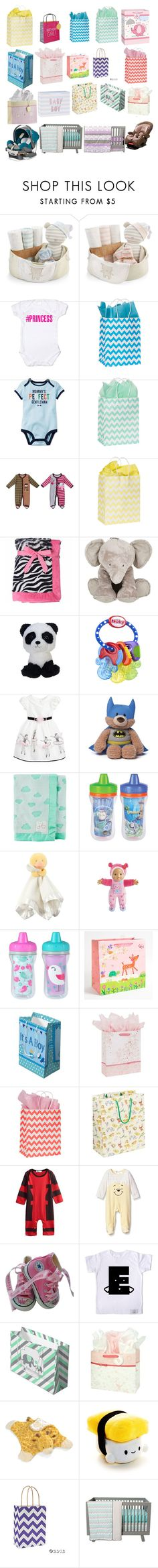 """""""baby shower gifts"""" by laylaitaly ❤ liked on Polyvore featuring Baby Aspen, Nöe, Carter's, Tartine et Chocolat, Nûby, Disney Pixar Finding Dory, Gund, The First Years, Marvel and Disney"""