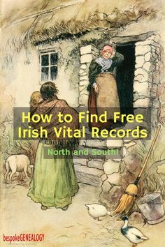 How to Find Free Irish Vital Records online. This post from Bespoke Genealogy looks at a great free resource often overlooked by family historians looking for their Irish roots. Free Genealogy Sites, Genealogy Forms, Genealogy Search, Family Genealogy, Free Genealogy Records, Lds Genealogy, Ancestry Records, Genealogy Chart, My Family History