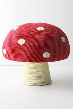 mushroom pouf, when I have a child, this will be in the nursery!