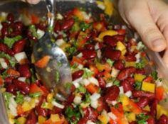 Mediterranean Inspired Kidney Bean Salad Recipe