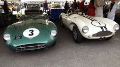 DBRs waiting for their moment at the Goodwood Revival 2012