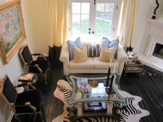 Kourtney Kardashian Living Room by qualitybath, via Flickr