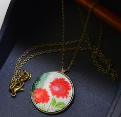 x233 2016 New Real Dried Flower Glass ball pendant Necklace glass dome Glass Ball pendant necklace