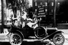 New Yorkers and the Womens Suffrage Movement
