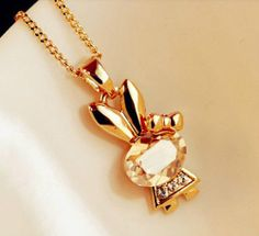 Fasion jewelry promotion store,Supply all kinds of cheap fashion jewelry Cute bunny short necklace - Cheap Fashion Jewelry, Cheap Jewelry, Fine Jewelry, Cheap Necklaces, Girls Necklaces, Short Necklace, Jewelry Trends, Fashion Necklace, Crystal Rhinestone