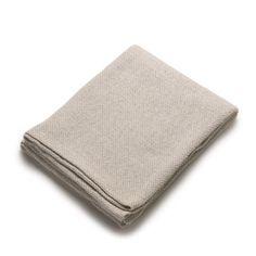 Lino e Lina/リネンケット S ナチュラル 7140yen 麻と綿の混紡でふっくら温かいブランケット
