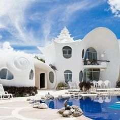 2. The Seashell House, Casa Caracol, Mexico | People Are Obsessed With These 10 Downright Magical Airbnbs