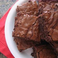 Quick and Easy Brownies @ allrecipes.co.uk
