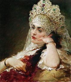by Konstantin Makovsky