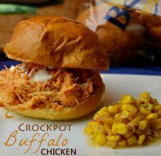 Crockpot Buffalo Chicken Recipe - Wanna Bite