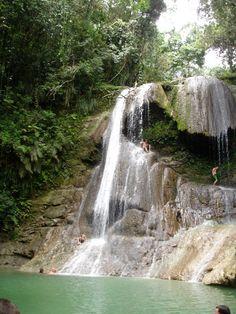 San Sebestan Waterfall...Puerto Rico