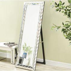 $95 - Adesso Alice Floor Mirror, Steel Adesso http://www.amazon.com ...
