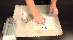 Watercolors and Misting - Make your own watercolors with spray mists and see three techniques using them.