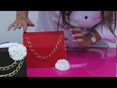 Fondant Chanel Pocketbook Tutorial - YouTube