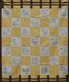 Farm Life Quilt - Vintage 1930's pattern by Ruby McKim