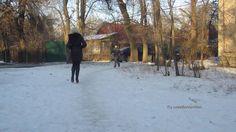 Ira - Stiefel im Schnee... (high-heeled boots in the snow) - #0113