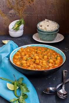 everyday musing: Shahi Chole Masala \ Chickpeas in a rich and creamy gravy