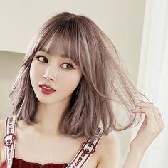 Shoulder Length Curls, Cute Shoulder Length Haircuts, Short Bob Wigs, Fluffy Hair, Hair Density, Wigs With Bangs, Hair Repair, Curly Wigs, Facon