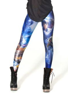 "Women's ""Star War"" Leggings - steezy.com - 1"