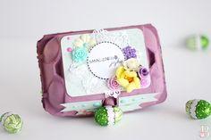 pudełko na jajka, DIY, pudełko, opakowanie, prezent, gift, easter Paper Goods, Wrapping, Boxes, Wraps, Easter, Blog, Diy, Crates, Bricolage
