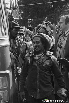 Bob Marley on the road, tour life