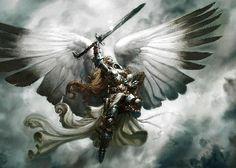 Angel White Warrior