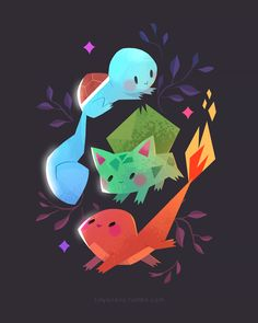 starters by tinysnail on DeviantArt