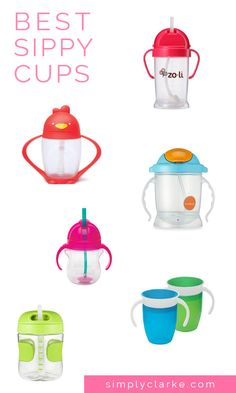 Best Sippy Cups - Sippy Cup Review, Straw Sippy Cups