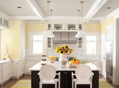 Color trends have seen richer, darker, more saturated and jewel-toned colors. For 2013 Benjamin Moore has chosen Lemon Sorbet as Color of the Year.