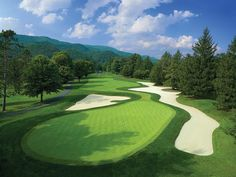 Greenbrier Old White TPC, $425: Designed by C.B. Macdonald, a looming figure in…
