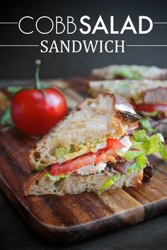Make your favorite salad into a sandwich.