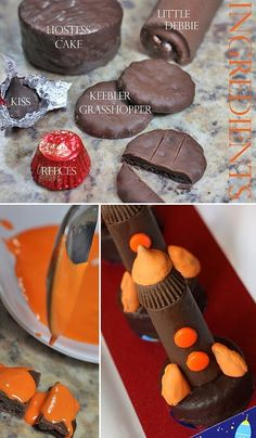 Space Shuttle The-Celebration-Shoppe-Space-Shuttle-Cake-How-To-wl Rocket Birthday Parties, Birthday Blast, Birthday Treats, 7th Birthday, Henri 4, Rocket Ship Party, Hostess Cakes, Rocket Cake, Astronaut Party